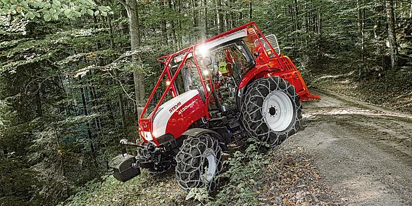 Csm Steyr Profi Cvt Forestry Tiger Cable Winch Austria E Cf B F